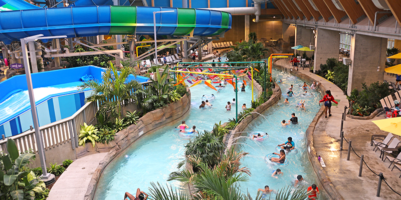 Lazy River at the Kartrite Indoor Waterpark