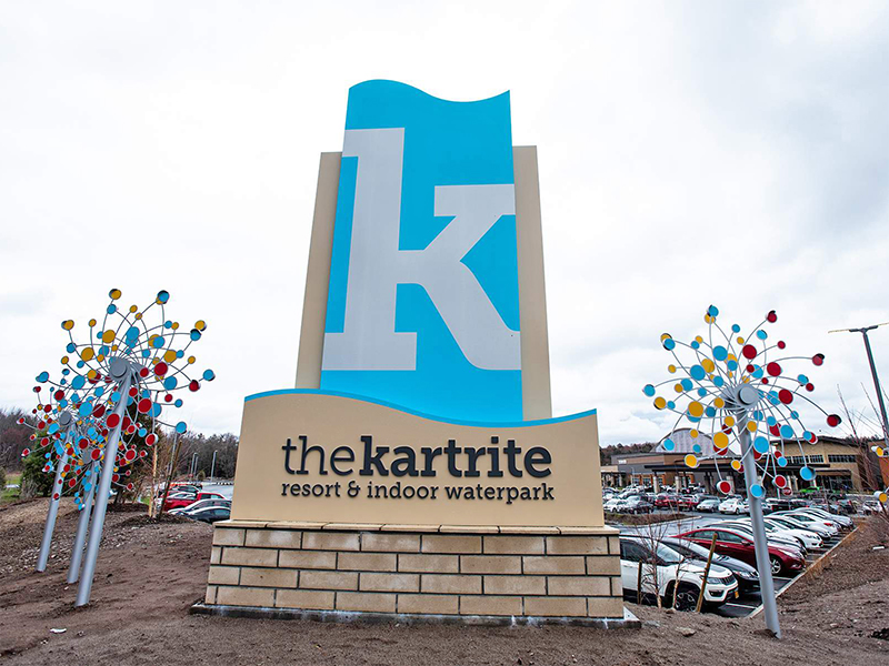 front sign at kartrite