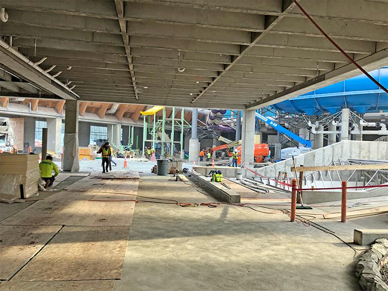 Kartrite Resort Construction