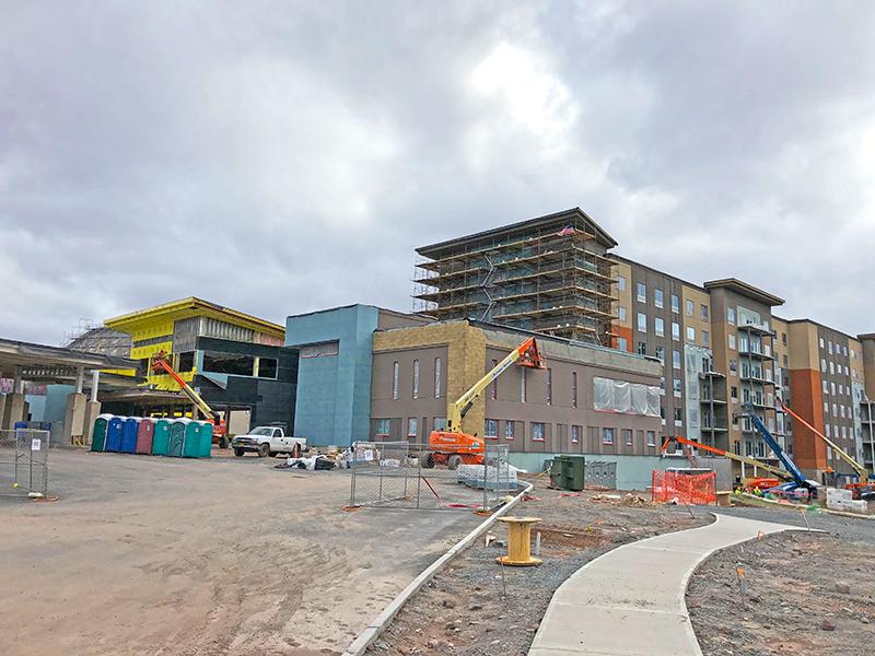 kartrite indoor waterpark under construction