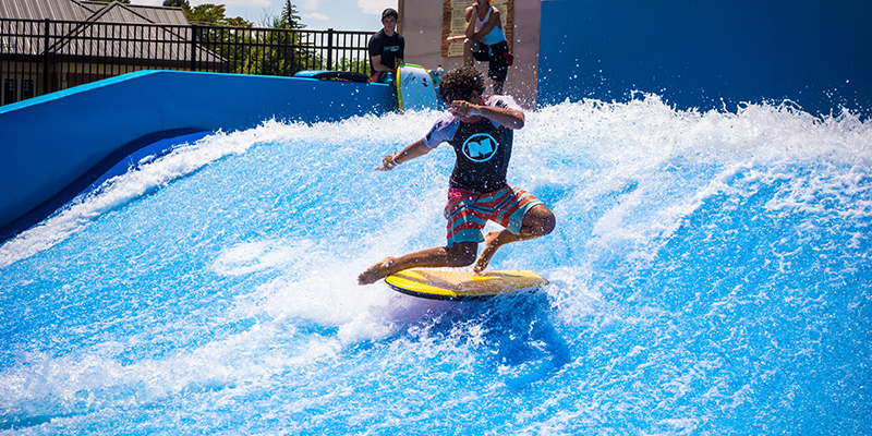 colleges and universities flowrider