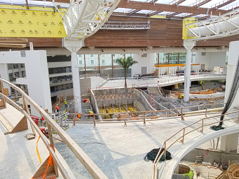 Gaylord Opryland water park nashville tn construction