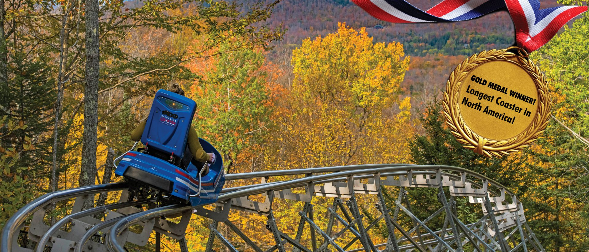 cliffside lake placid mountain coaster