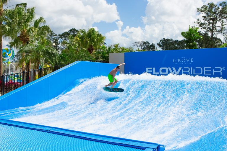 surf simulator at the grove resort orlando florida