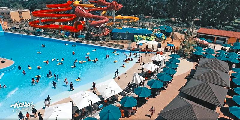 Aqua Planet waterpark oversized custom wave pool