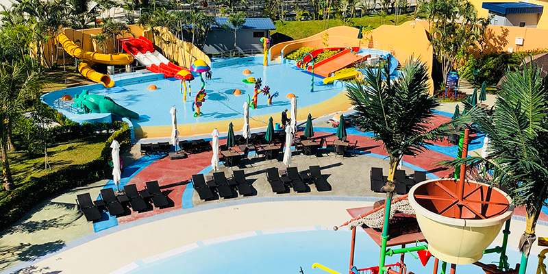 Kids area and active play at Aqua Planet