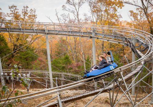 Mountain Coaster at Branson Runaway