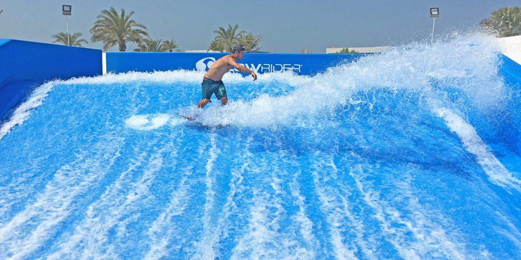 Triple FlowRider Surf Attraction