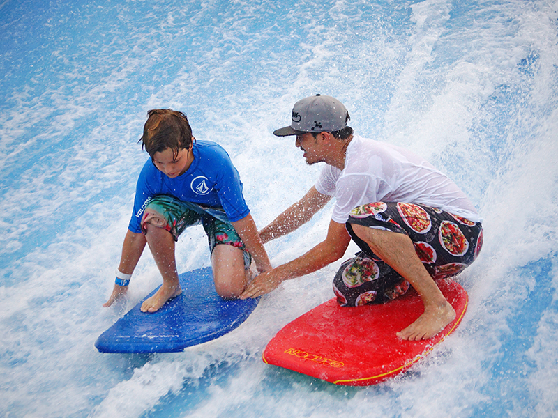 Staff Training Flowrider