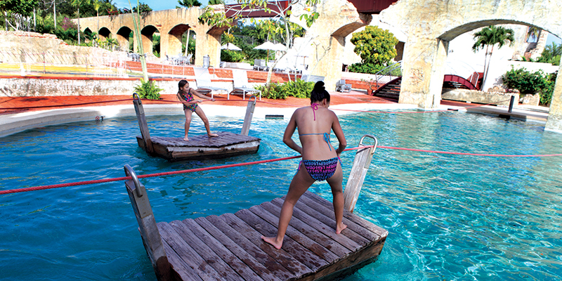 active play area at ritz carlton dorado watermill