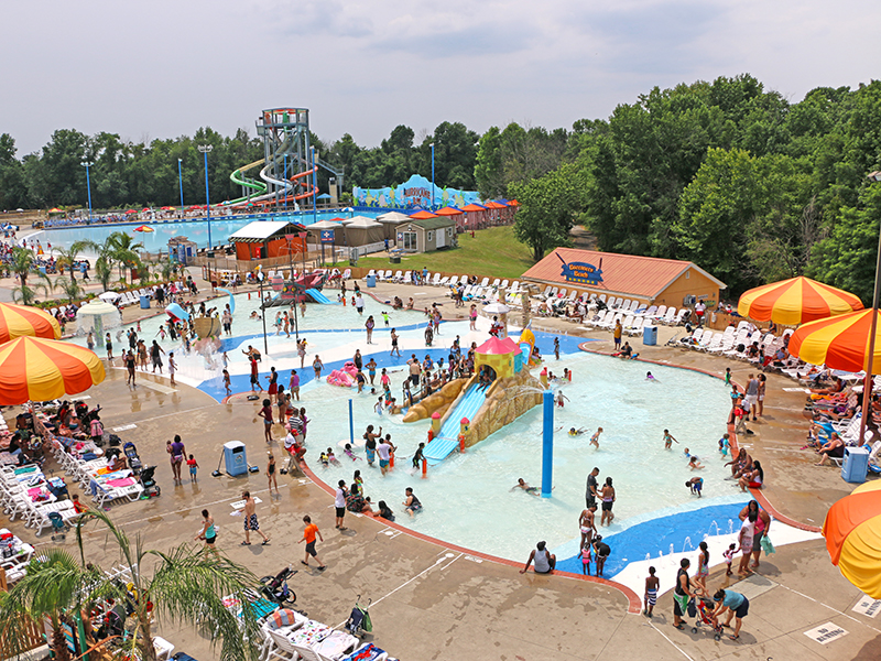 six flags america overview kids area