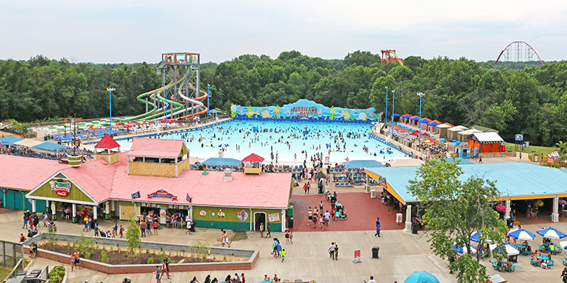 Wave pool at six flags america bowie maryland