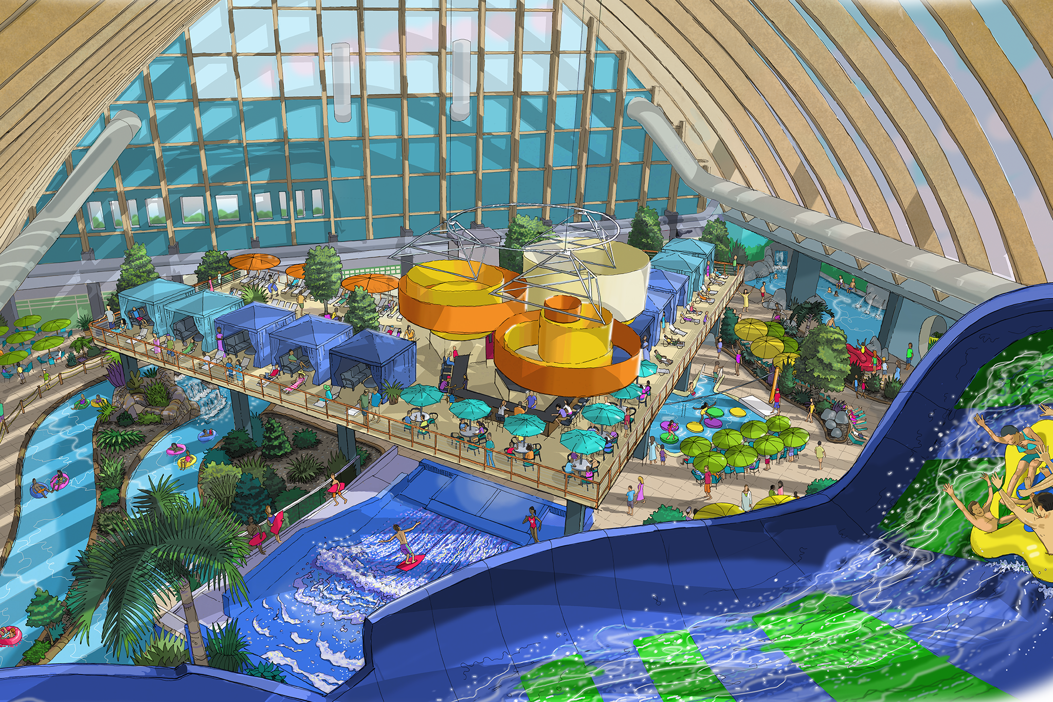 Kartrite Resort and INdoor Waterpark