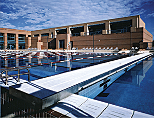 ADG Bulkhead commerical pool installation