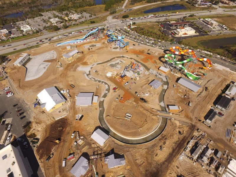island h20 live water park construction