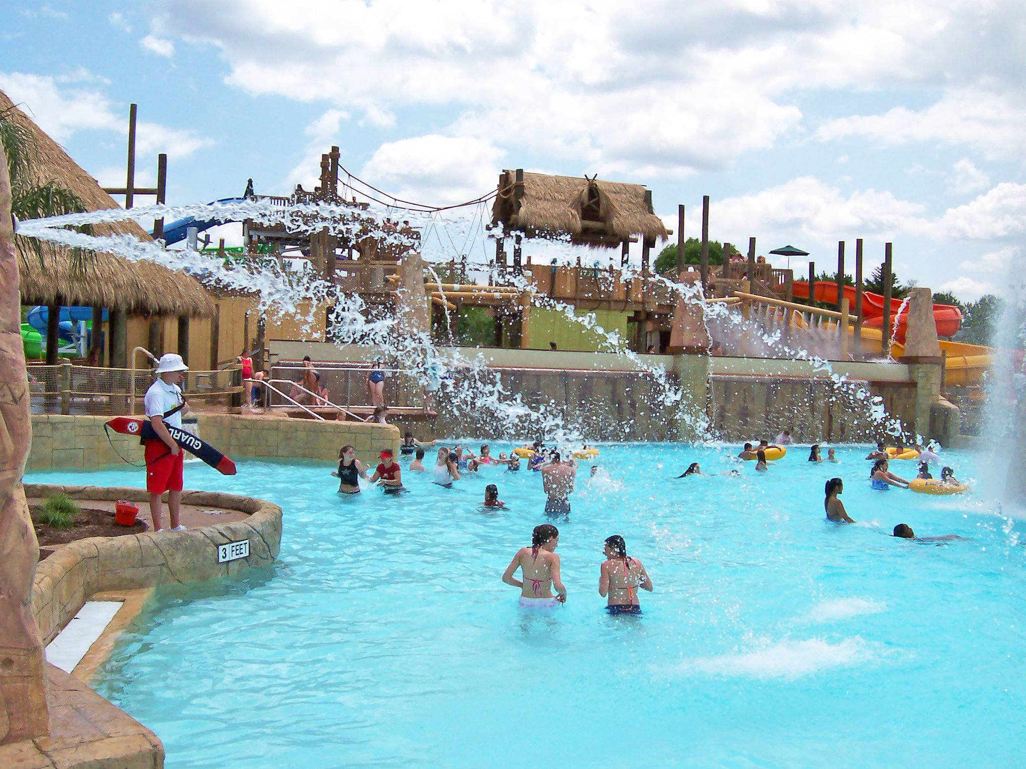 Six Flags Adventure Pool