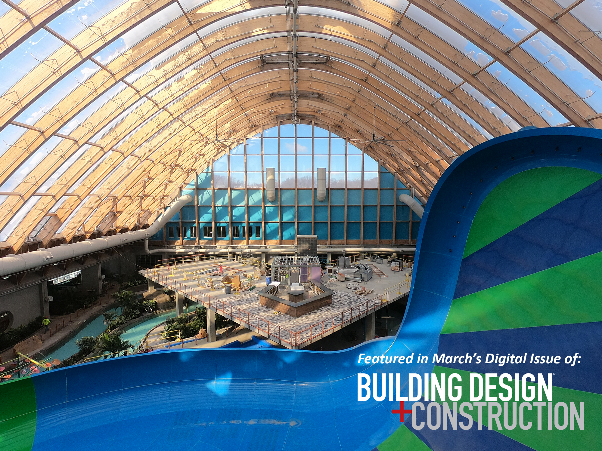 building design and construction kartrite indoor water park at resort