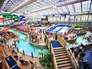 Overall jay peak indoor water park