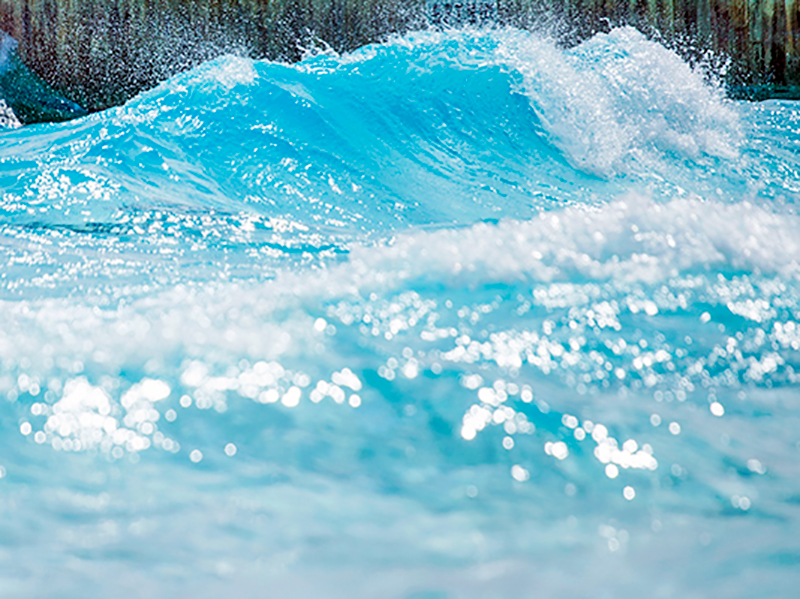 wave generation product for water parks