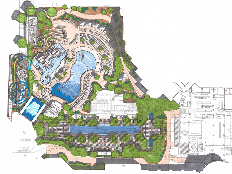 resort water area