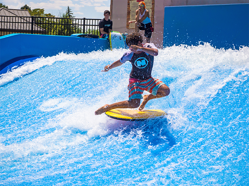 educational facility flowrider