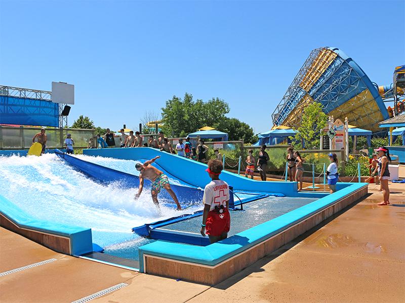 water park flowrider
