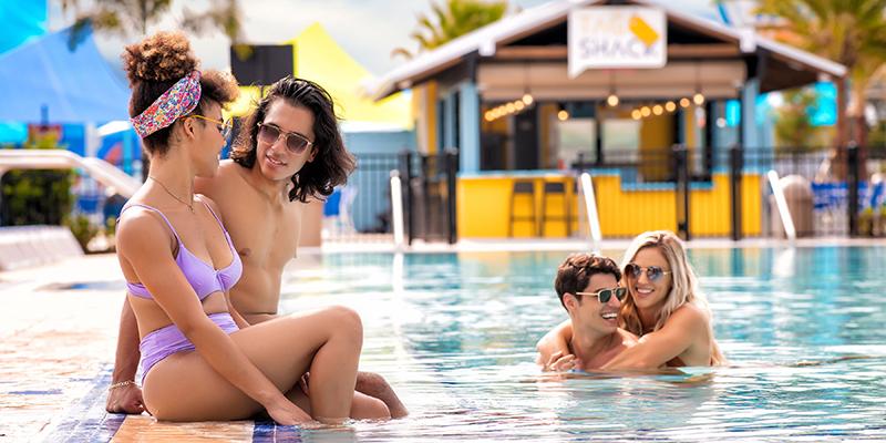 adult pool at island h20 live