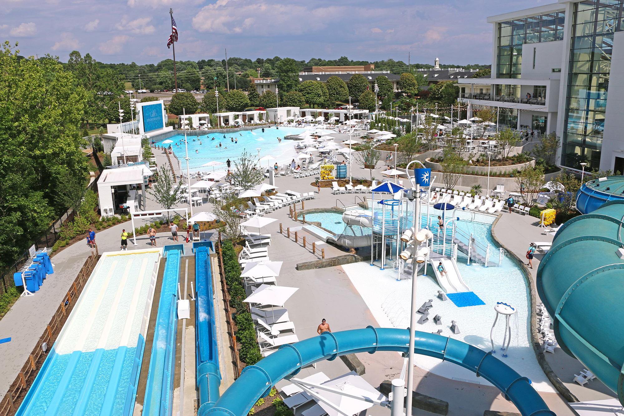 soundwaves water park outdoor overview