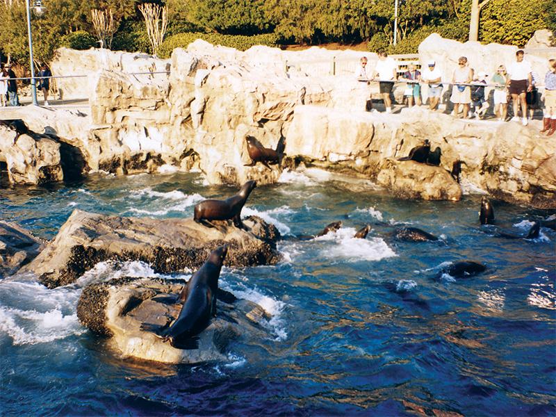 zoos and aquariums exhibits