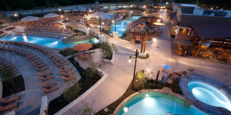 water park at gaylord texan