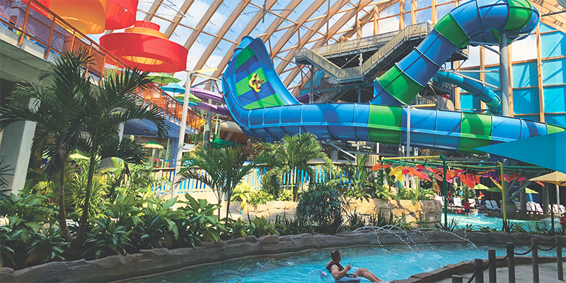 overview of kartrite indoor water park attractions