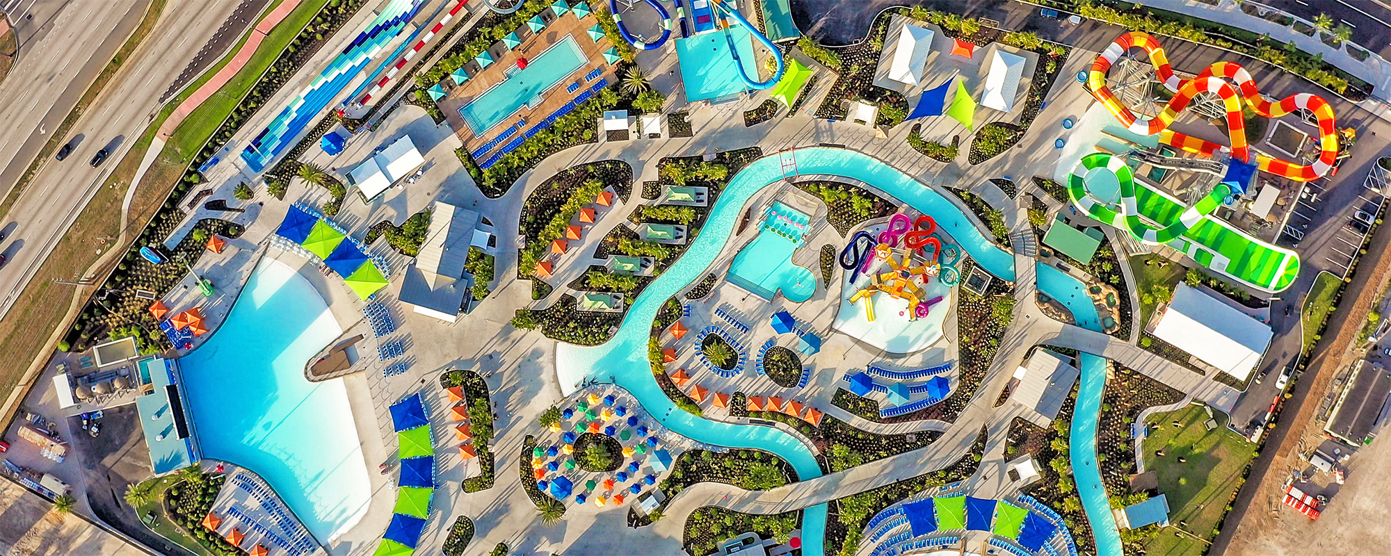 water park at island h20 live overview