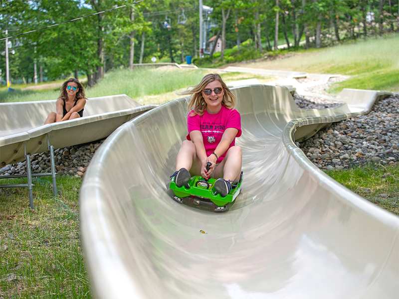 alpine slide adg mountain slide