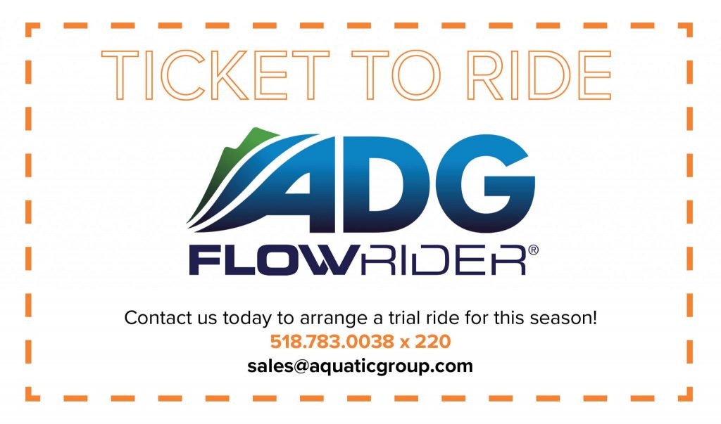 ticket to ride the flowrider