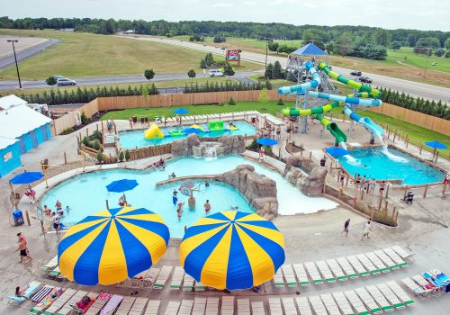 adventure lagoon at Columbus zoo water park
