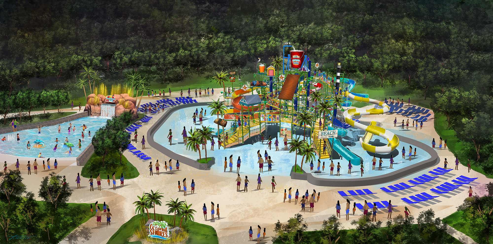 kings dominion renovation expansion project water park