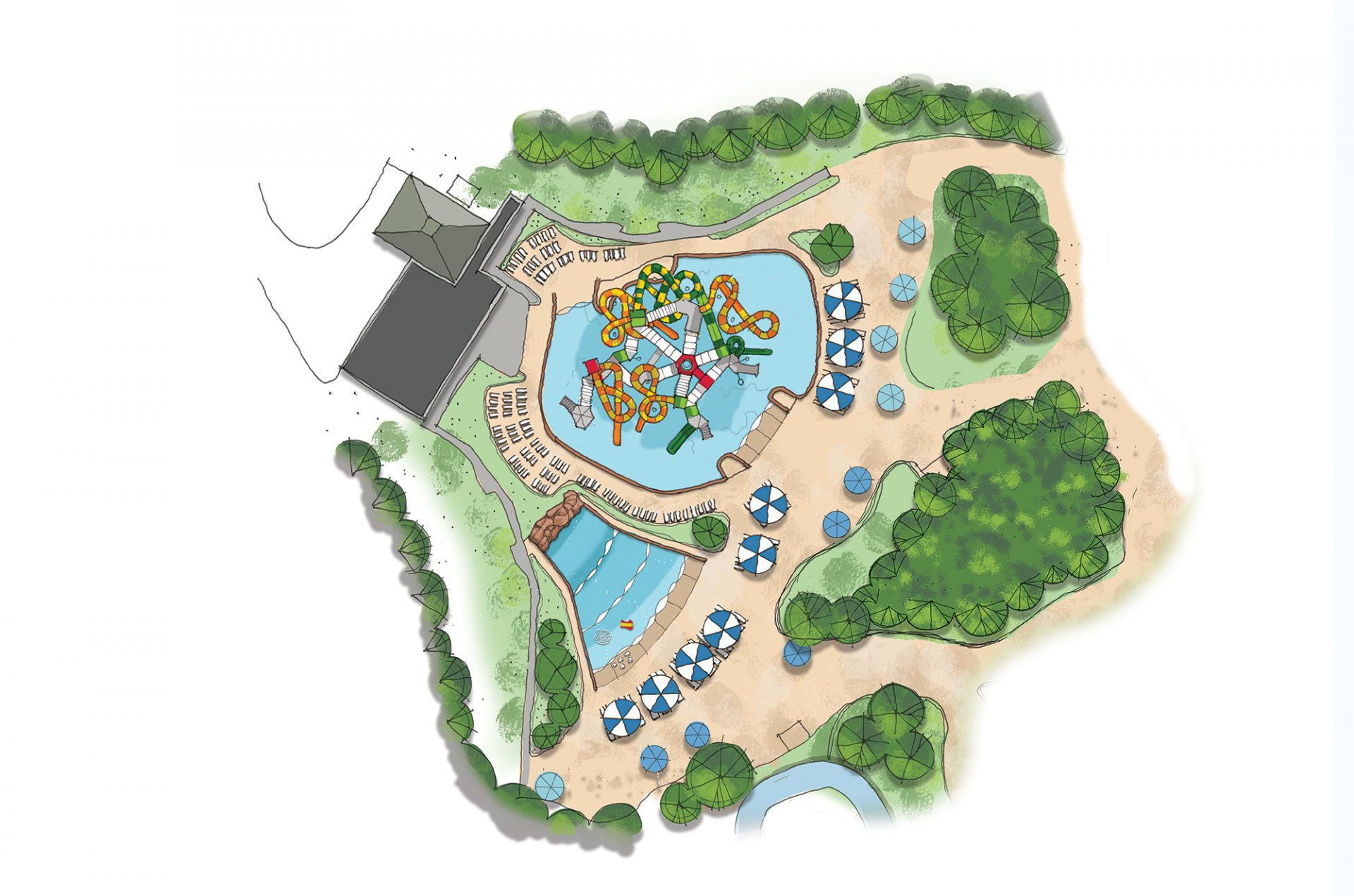 Kings Dominion concept drawing expansion renovation