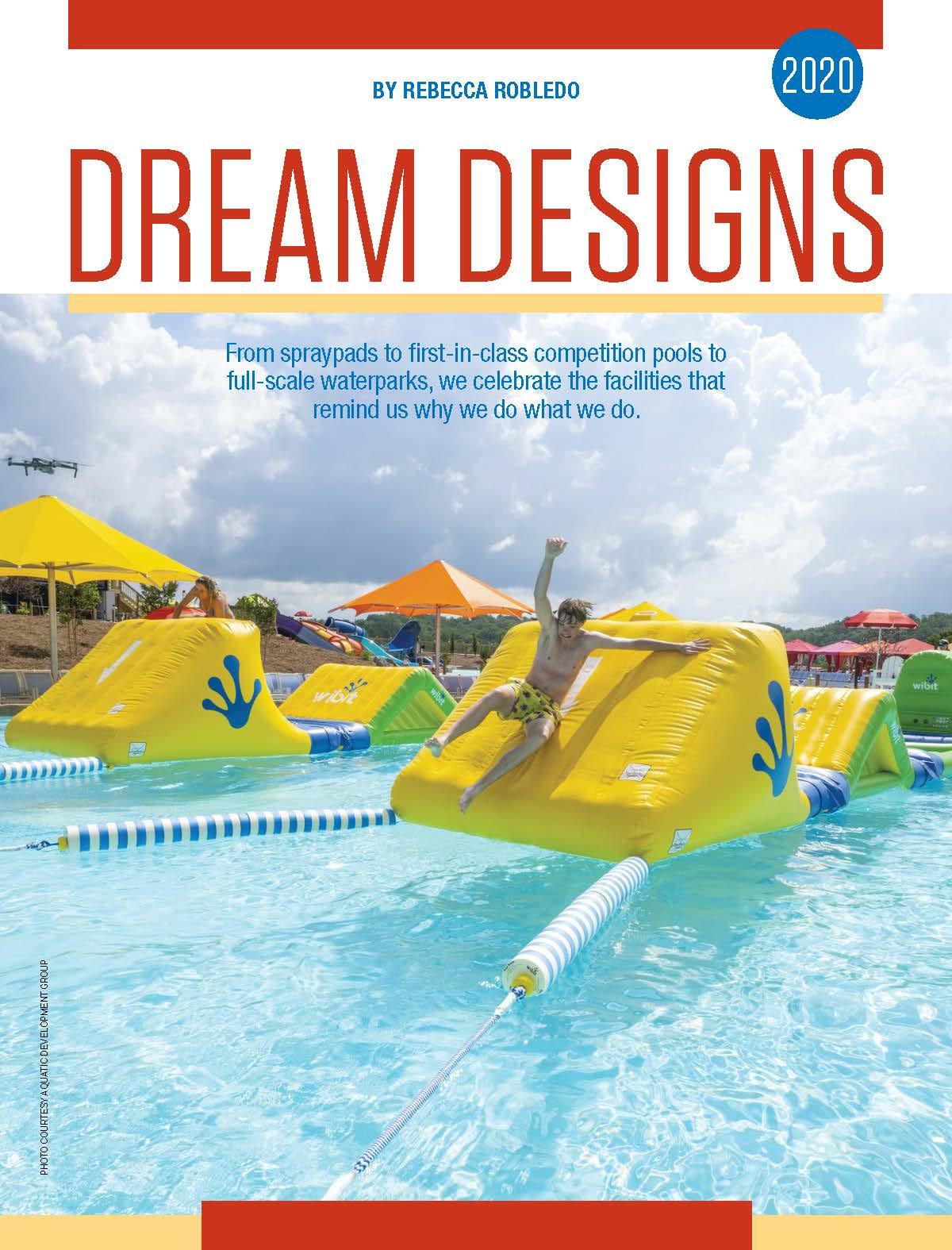 Aquatics international dream designs 2020 soaky mountain