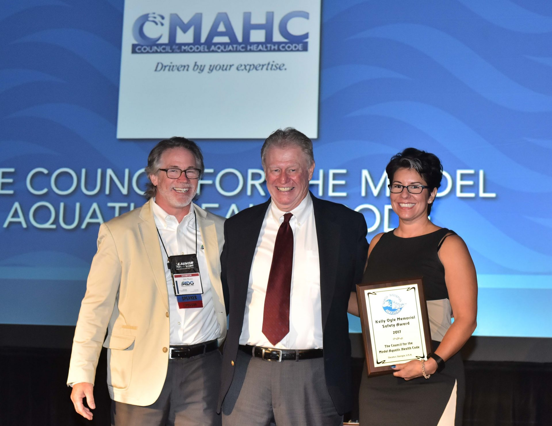 cmahc award jim dunn aquatic development group